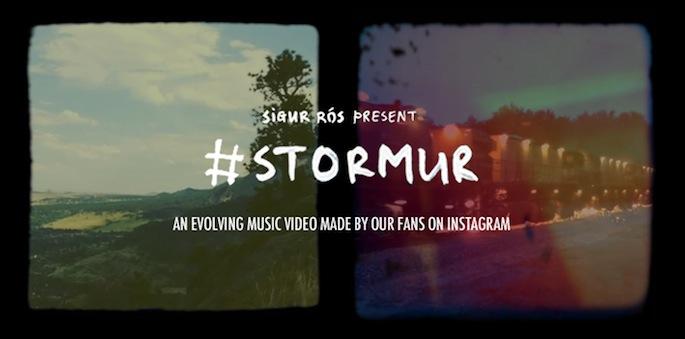 Sigur Rós present #Stormur
